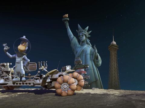 《太空狗之月球大冒险》明日上映欢乐冒险锁定合家欢