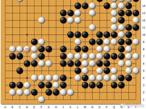 动图棋谱-围棋女队少年队对抗 陈一鸣中盘胜陈豪鑫
