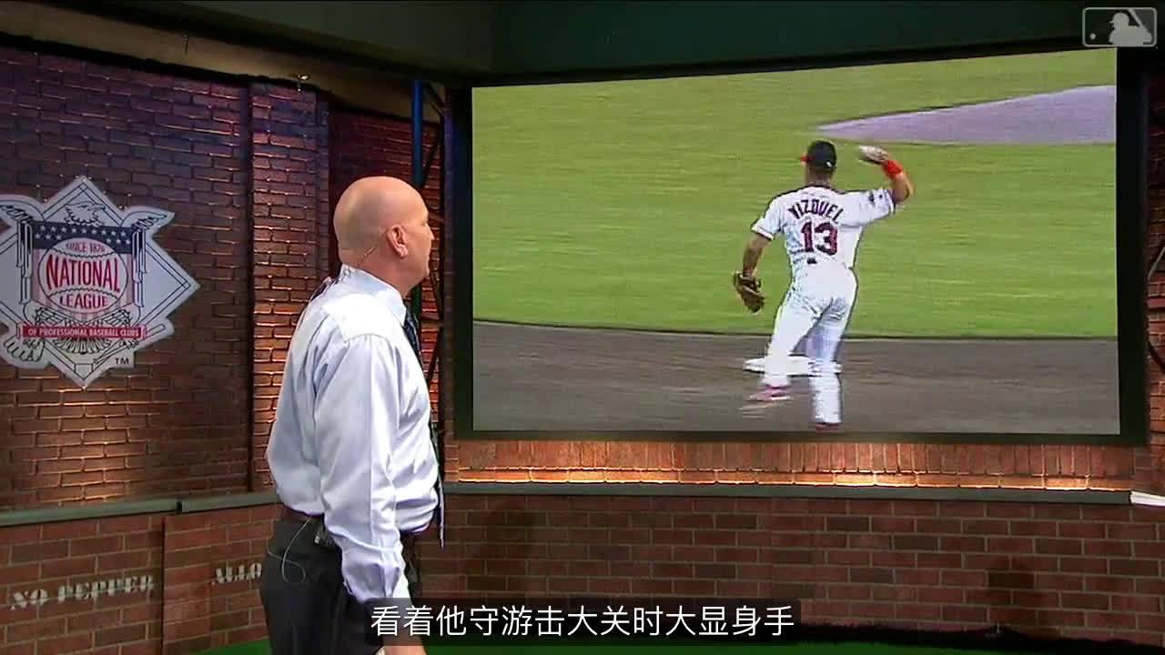 """身形高大的""""明星游击手""""特洛伊-图洛维茨基(Troy Tulowitzki)守备美技"""