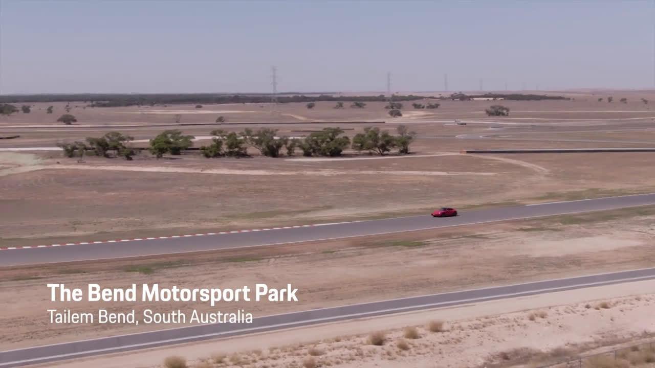 保时捷911 992赛道展示:马克·韦伯讲解,澳大利亚阿德莱德Bend赛道