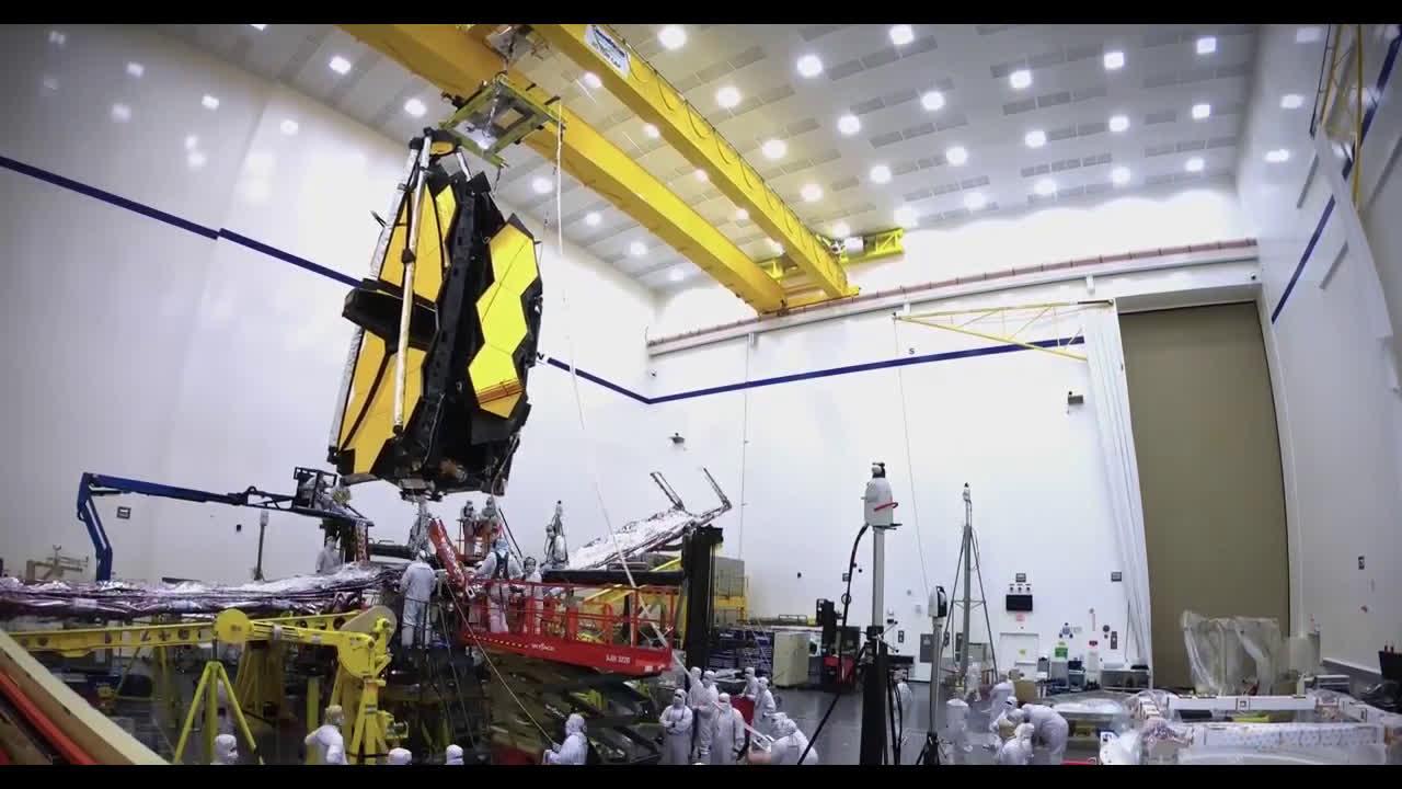 蓄势待发!詹姆斯韦伯空间望远镜又完成一项任务,离发射更近一步