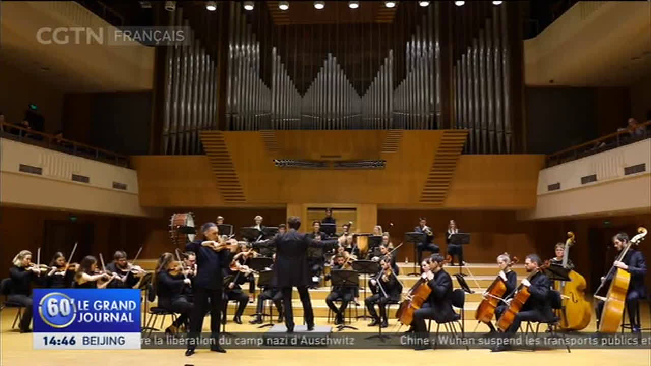 来自巴黎的新欧洲室内乐团于本月初在北京音乐厅举办了一场别开生面的