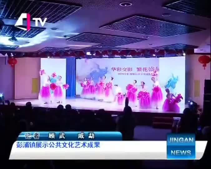 彭浦镇展示公共文化艺术成果