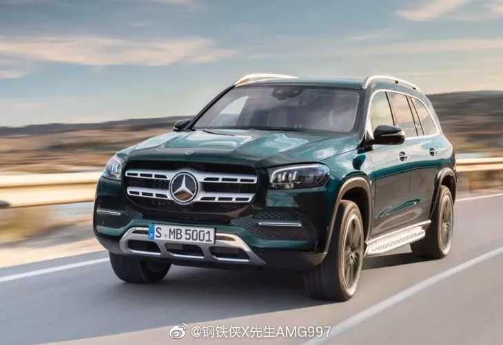 全新一代奔驰GLS将广州车展上市 轴距达3135mm!产品力更新到最强