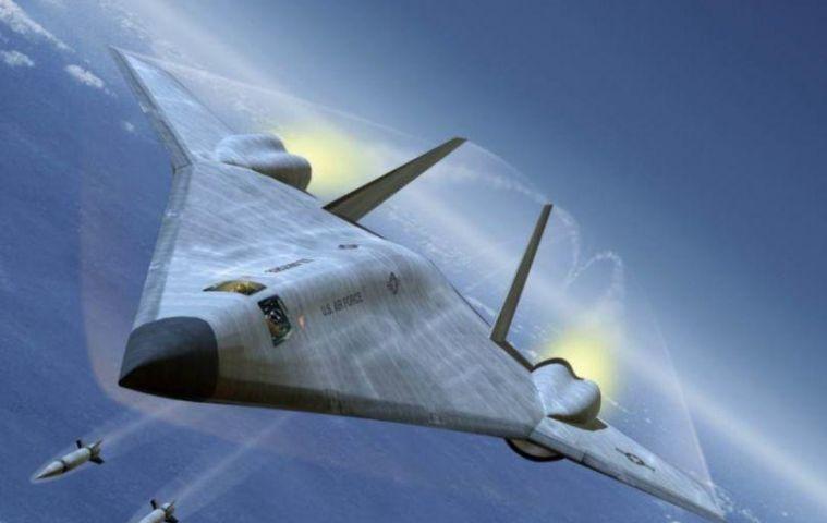 美国新隐形轰炸机公开,2年后将实现首飞,一架就抵得8架轰6K