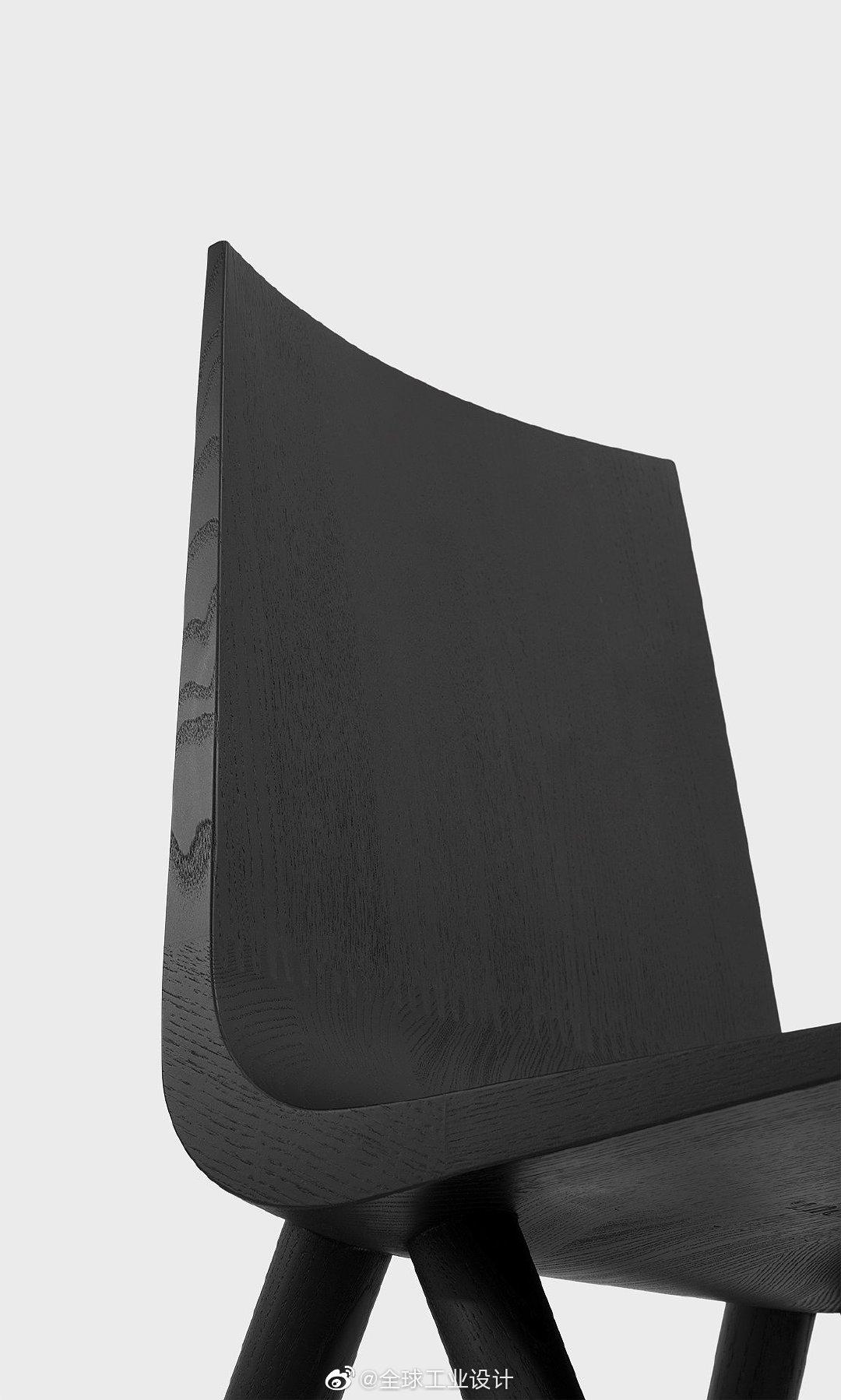 独特流线型简约椅 - Cresta