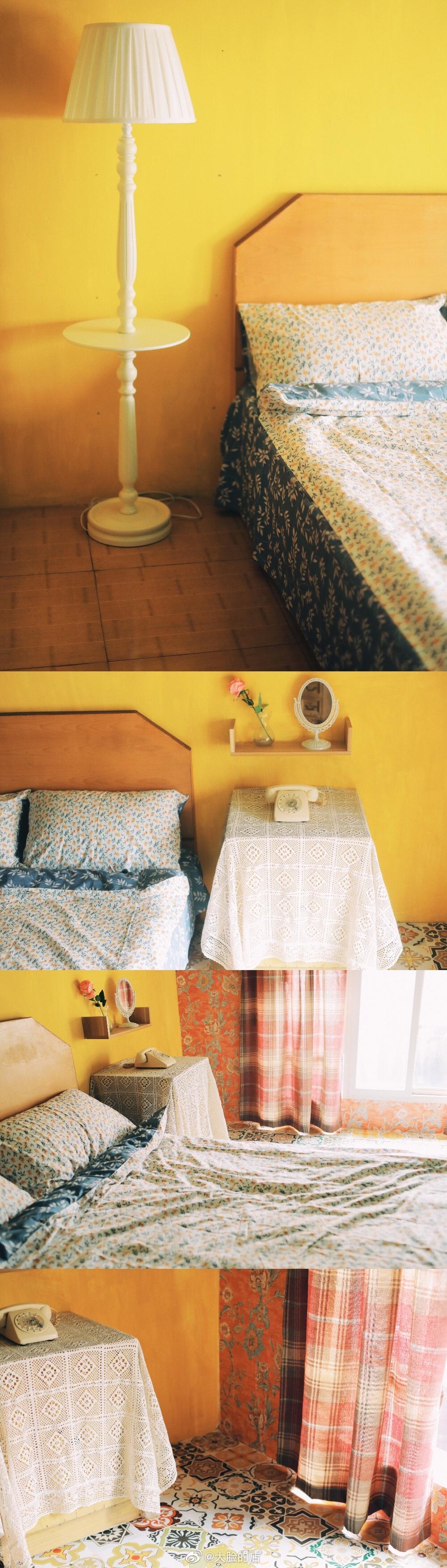 做了一个很喜欢的阁楼民宿,给外地来武汉旅拍的摄影师提供方便
