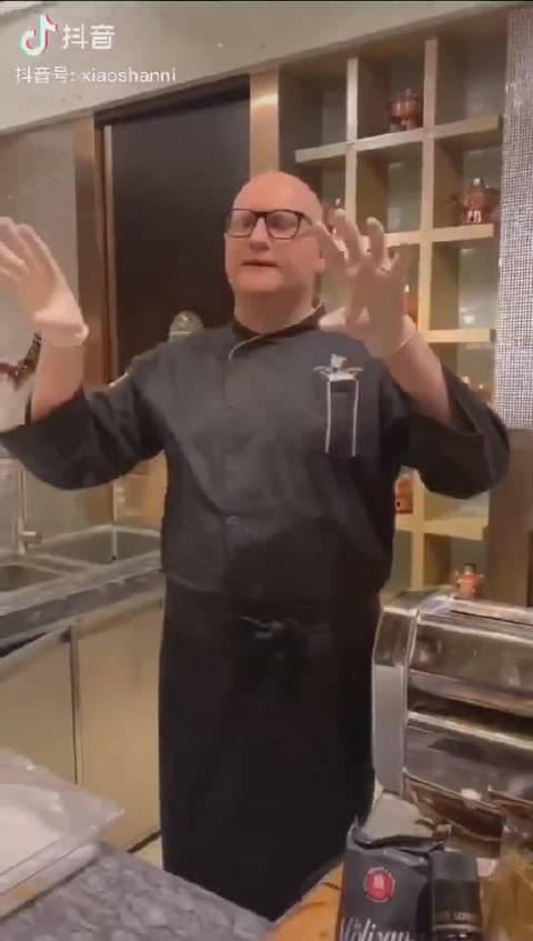 我的好朋友,意大利 佩鲁贾 厨师 Federico