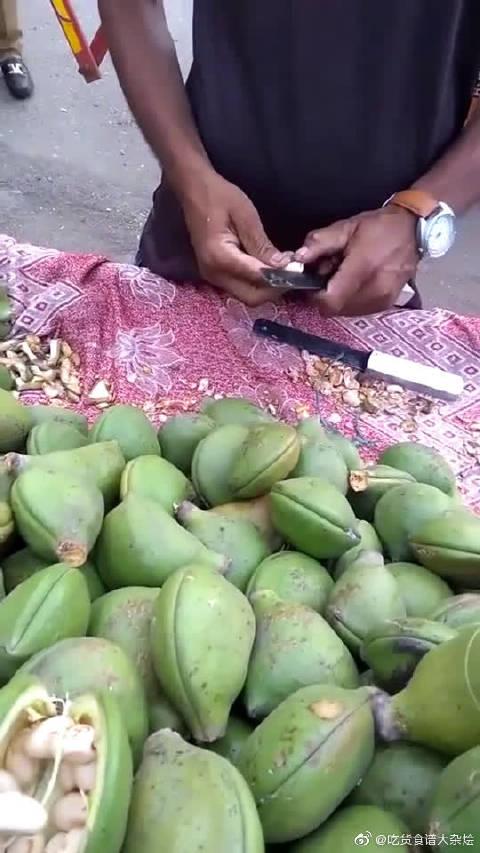 印度街头的小水果,没有恒河水的浇灌,怎么可能长得这么好