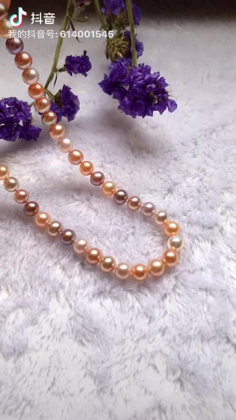 珠光、颜色、圆度都很好