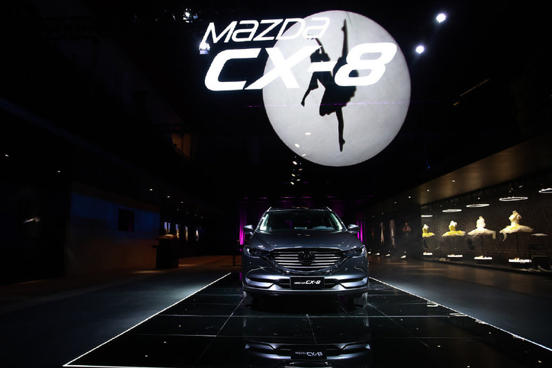 左驾首发《马自达CX-8》长安马自达在中国上市