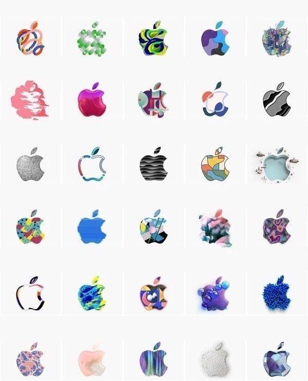 苹果logo图形创意大集合