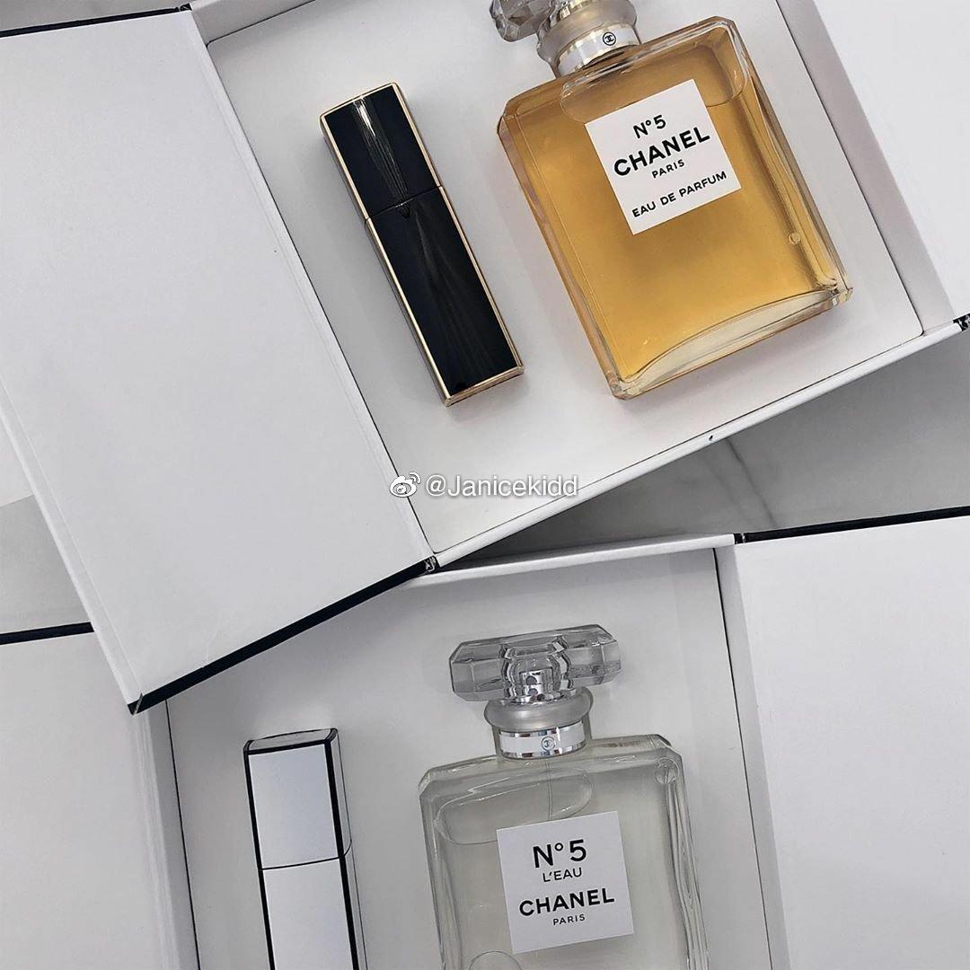 CHANEL 2019年圣诞系列,推出了四款经典香氛珠宝礼盒