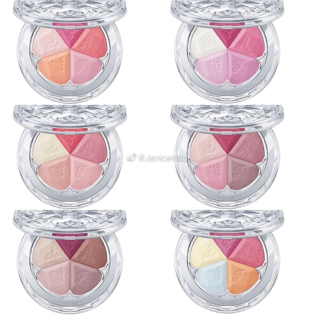 JILL STUART 2020年春季新腮红Bloom Mix Blush Compact 全6款其中限