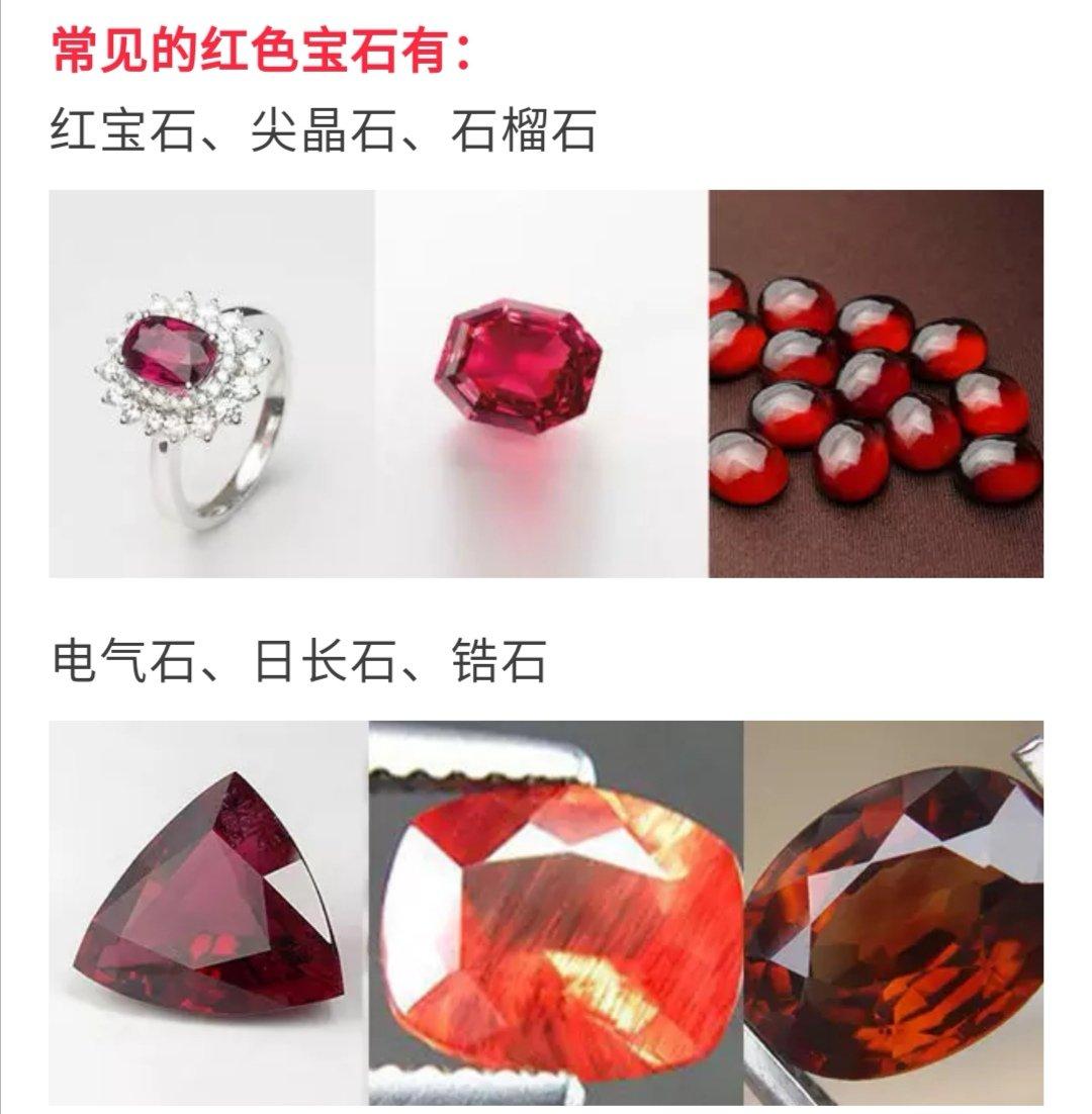 常见的各色宝石大集合,你最喜欢哪一种?