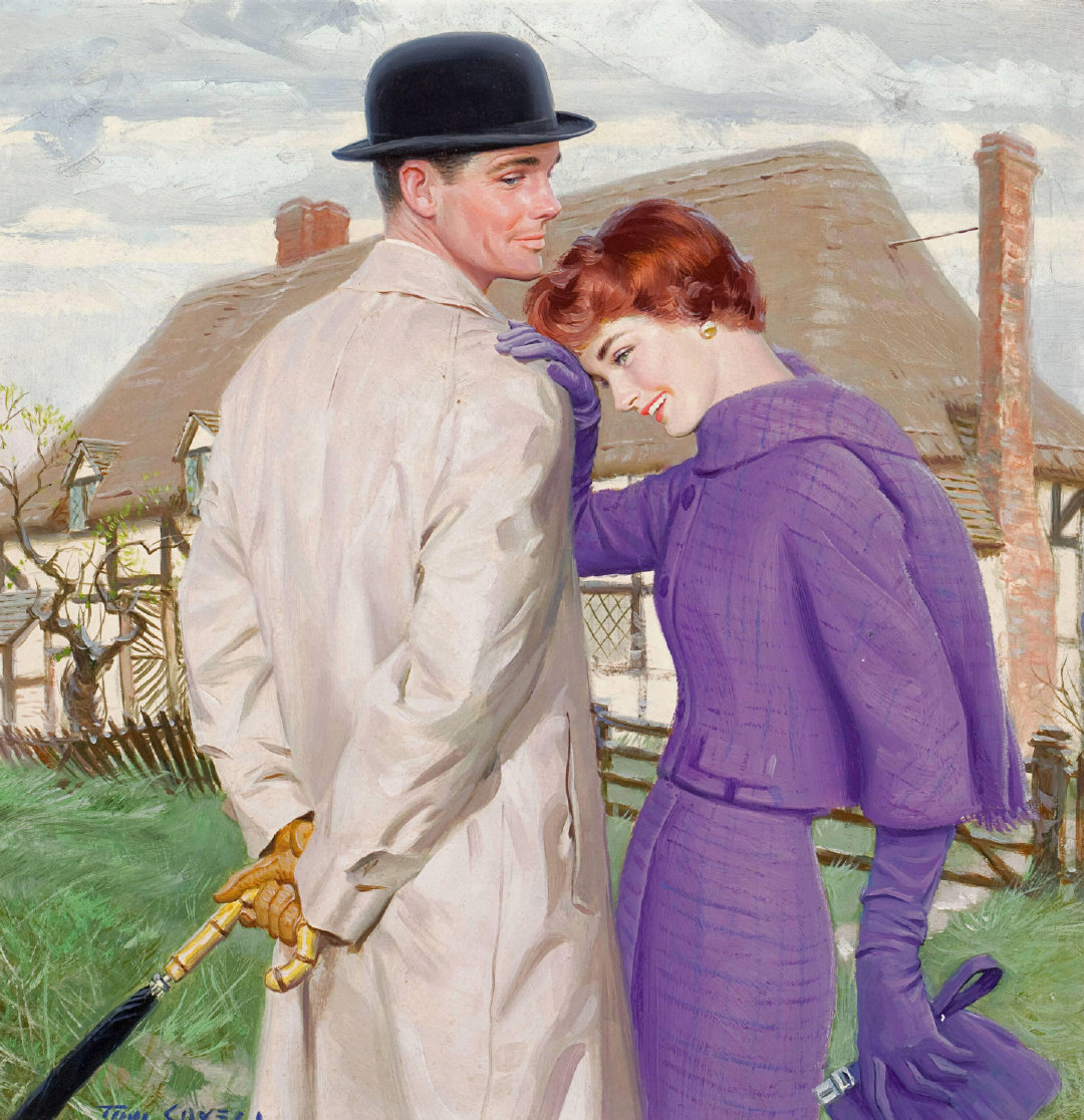 善于运用油画描绘西方历史的美国画家Tom Lovell从未接受过科班艺术教
