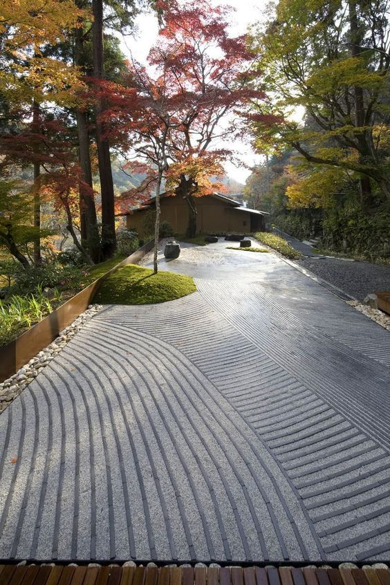 日本庭园造景