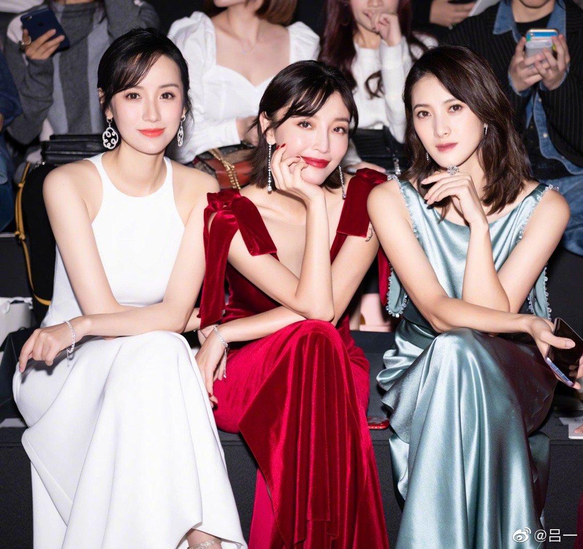 昨夜属于RACHEL LAI上海时装周感谢来来老祝夫妇的邀请~再次见证