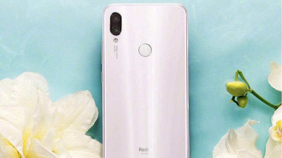 Redmi Note 7系列白色版叫镜花水月!首销就直接降价