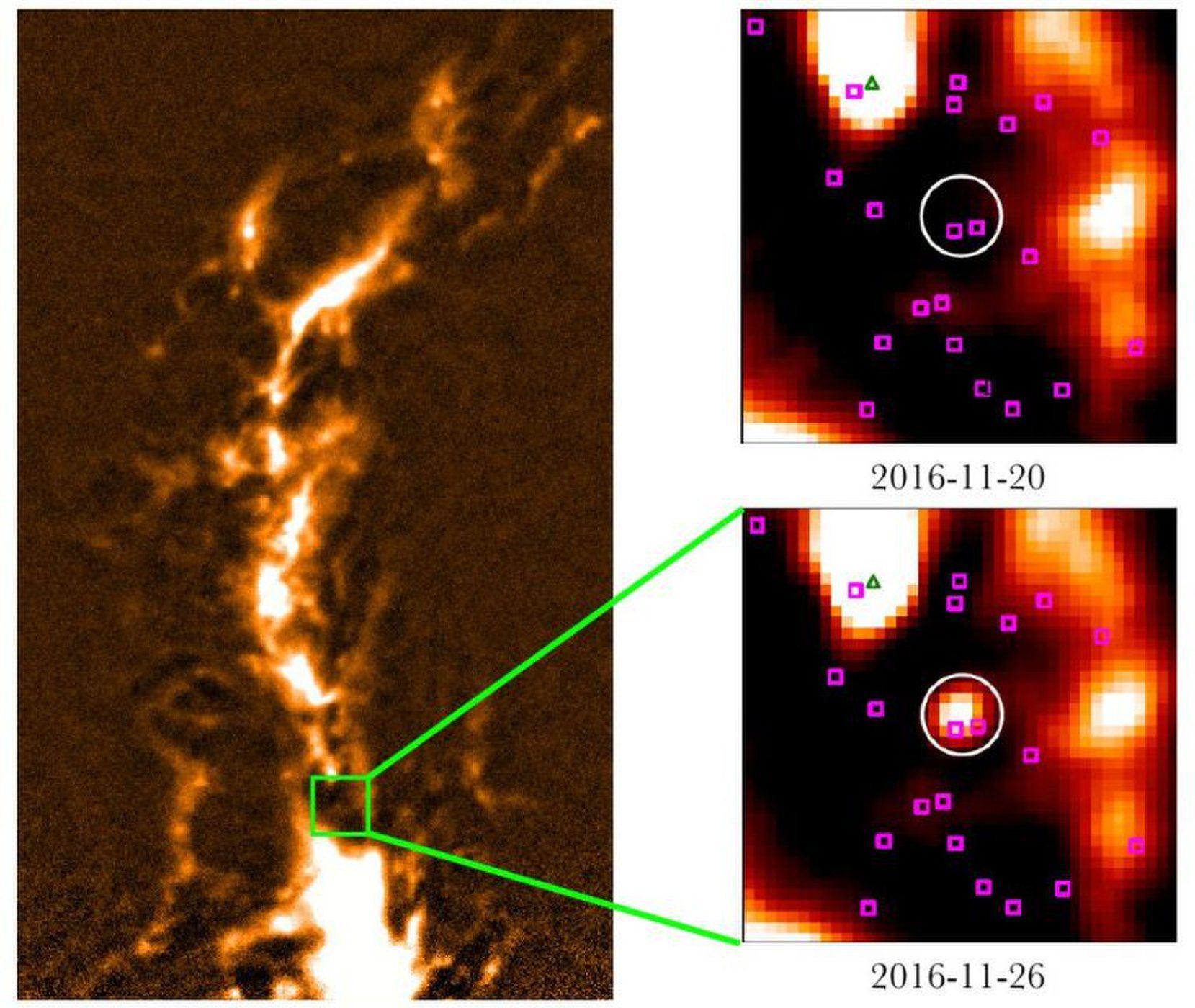 1500光年外的喷射,威力比太阳耀斑强100亿倍!图片