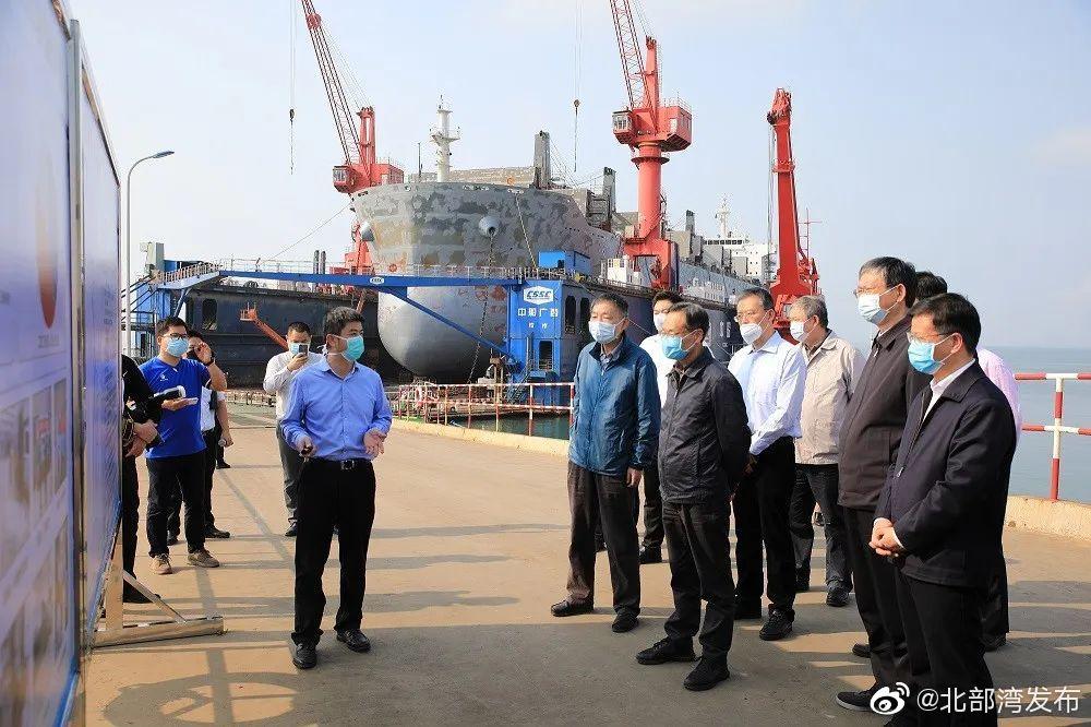 北部湾港集团:重点工程项目复工进行时