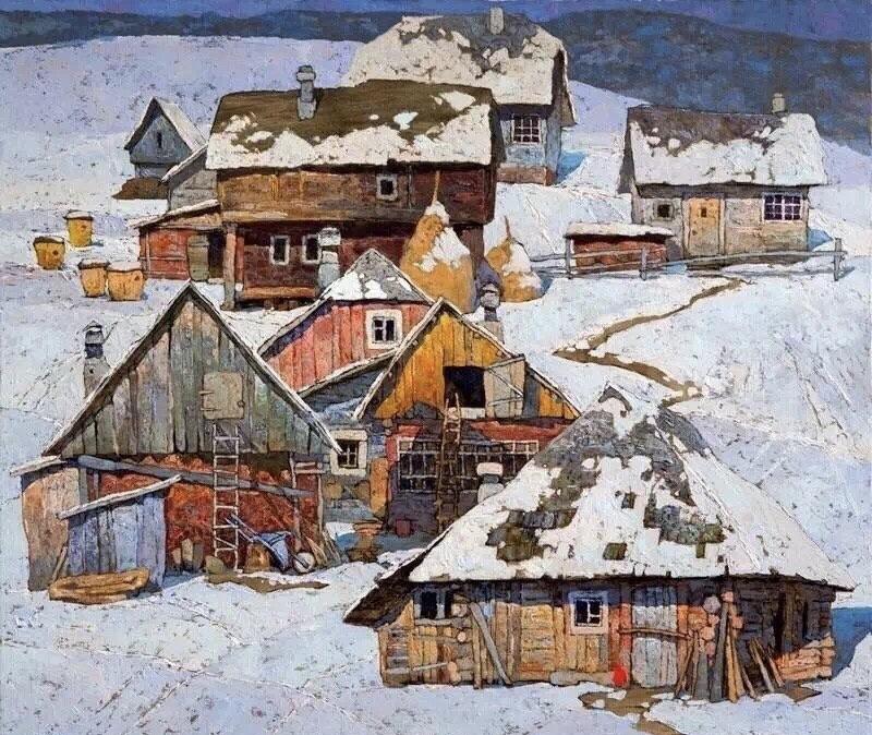Denis Sarazhin · 乌克兰 ——(今日油画)
