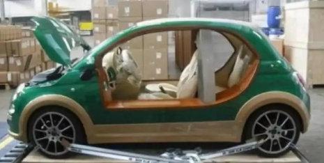 价值百万的纯电动汽车却没有车门