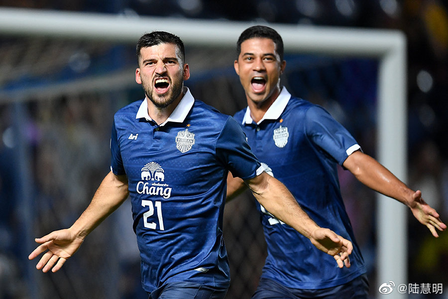 看了些官网的图片,应该武里南附加赛赢得胡志明市足球俱乐部,2比1