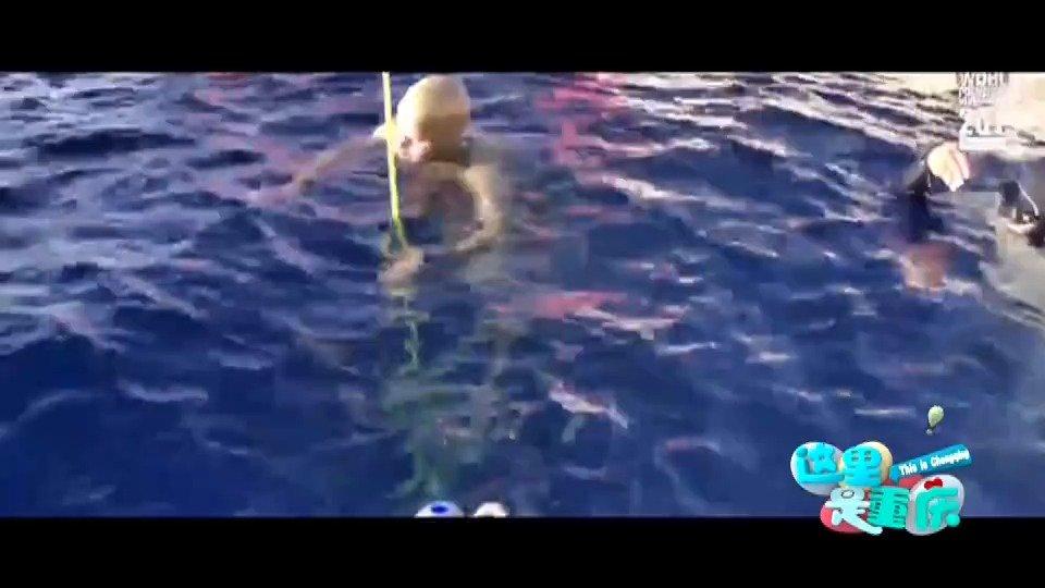 《自由 潜》  51米的深海里,一个身材娇小的重庆妹子,没有气罐