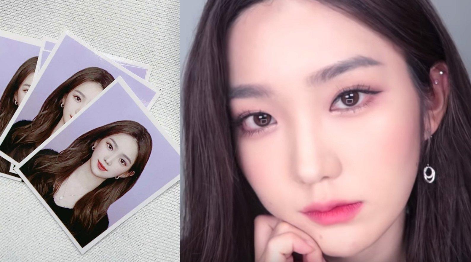 韩系美少女的证件照妆容