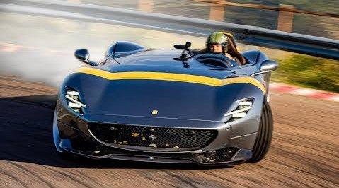 名宿评测   罗斯博格试驾法拉利Monza SP1