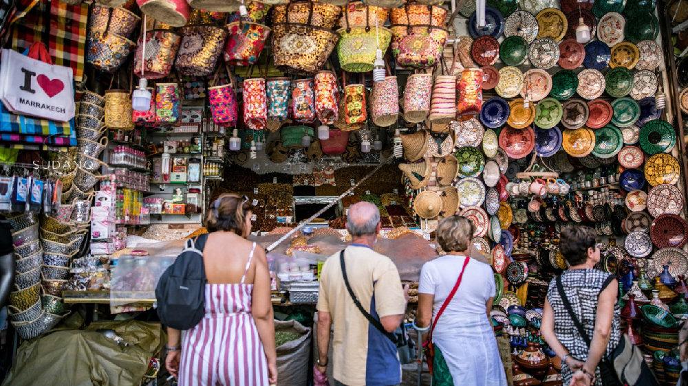 """实拍摩洛哥集市:历史悠久,手艺古老,就怕买到""""中国制造"""""""