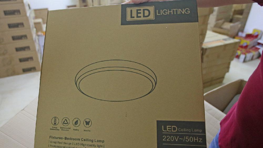 灯具外包装采用全外文,竟是为了迷惑消费者,方便灯具店差异叫价?