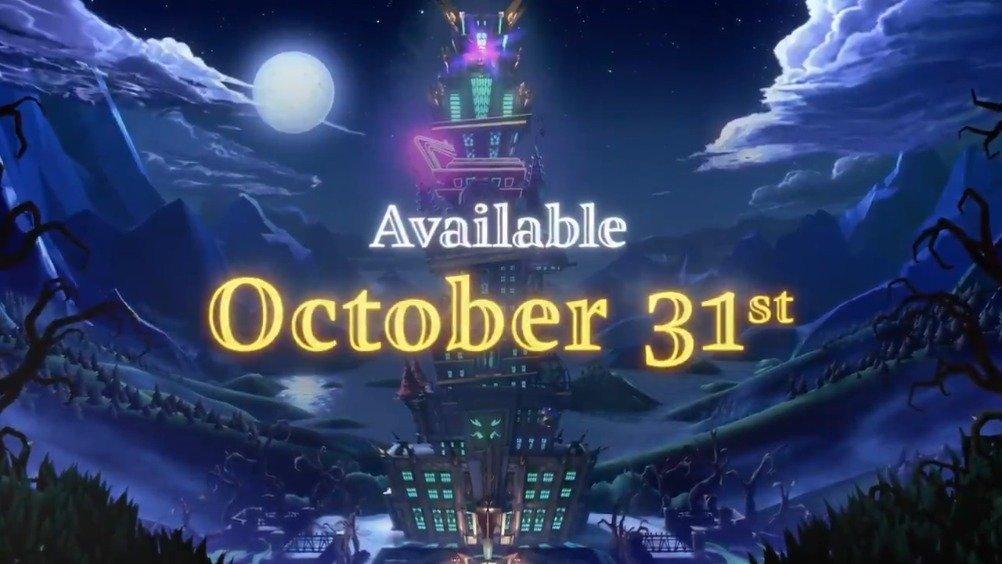 《路易吉鬼屋3》将会在10月31日万圣节正式发售。