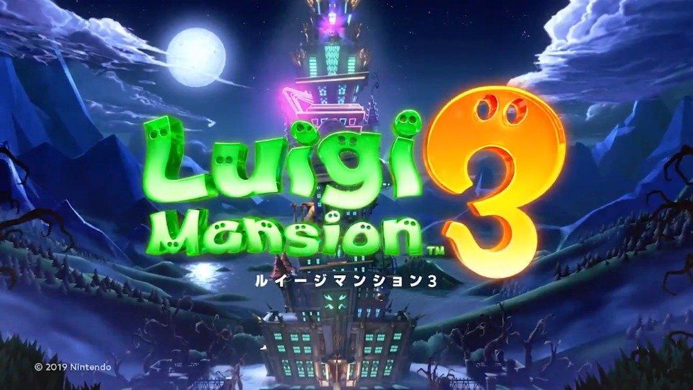 Switch《路易吉洋楼3》确认将于10月31日万圣节发售,最新宣传片: