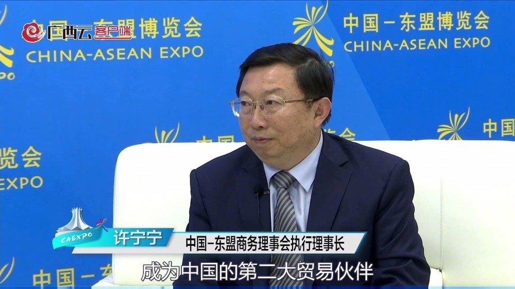 高端云访谈 ▏中国-东盟商务理事会执行理事长许宁宁