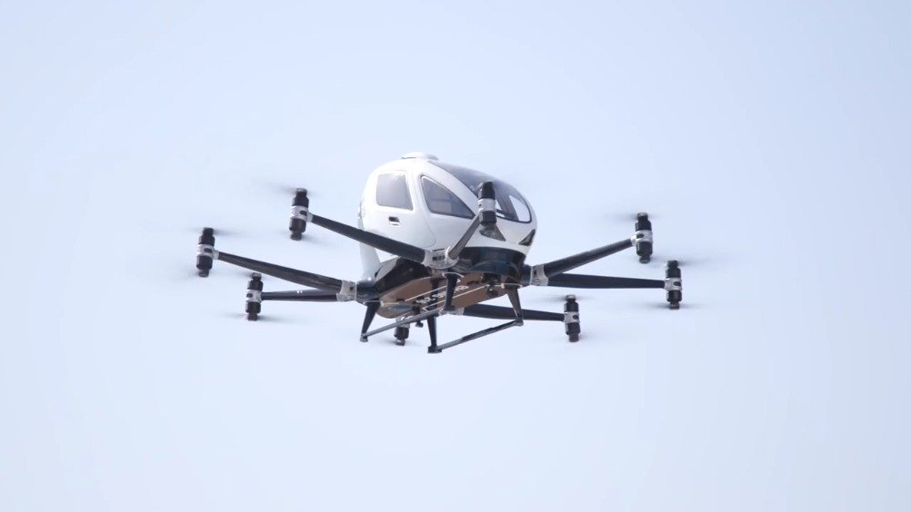 Passenger Delivery Drones In China @亿航智能