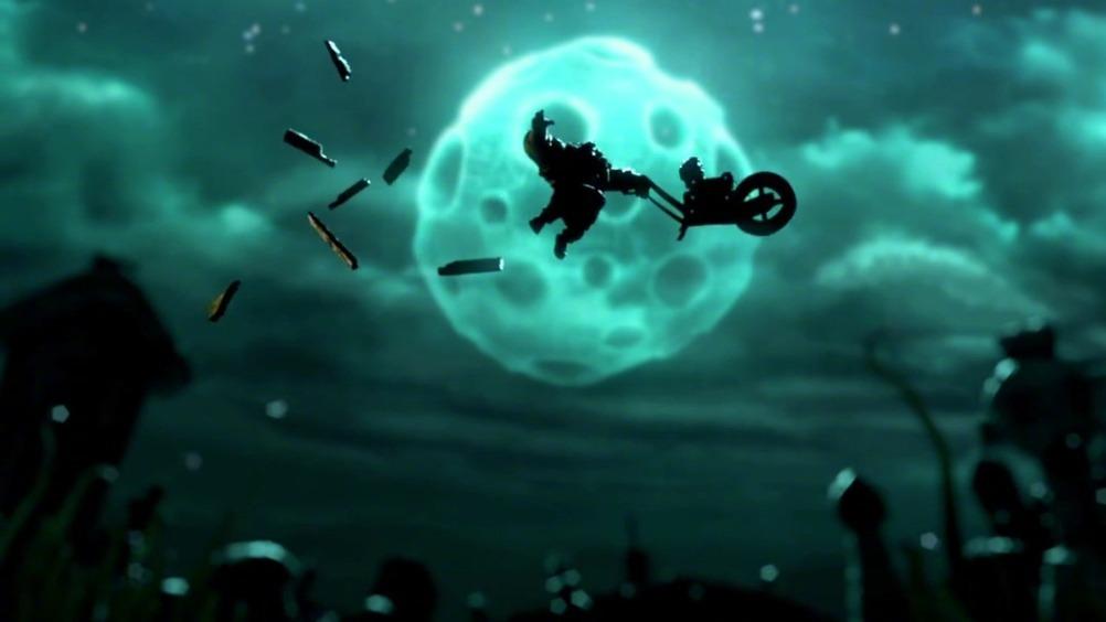 法国哥特风奇趣动画短片《坟墓和旋转木马》