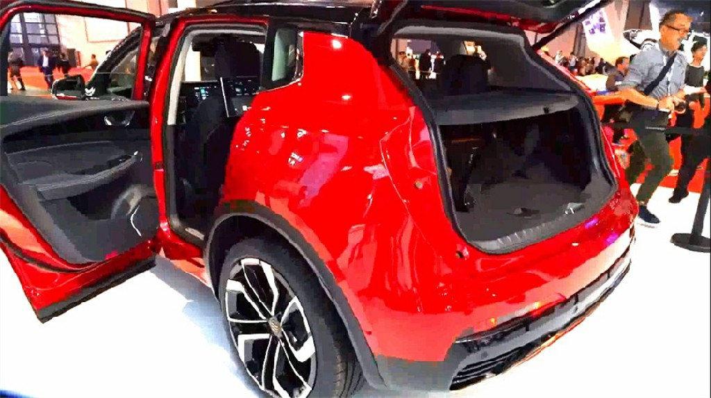 实拍|天际ME7 真正的车联网科技 补贴前售价36.68万起