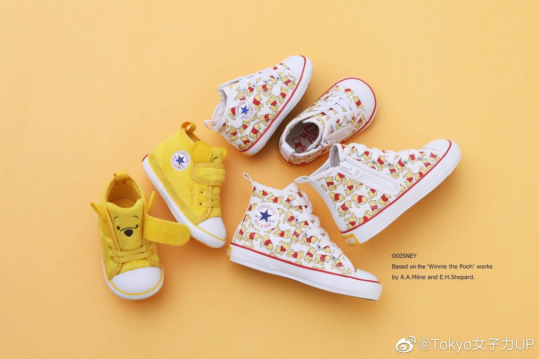 迪士尼和匡威合作的新款童鞋,也太可爱了吧