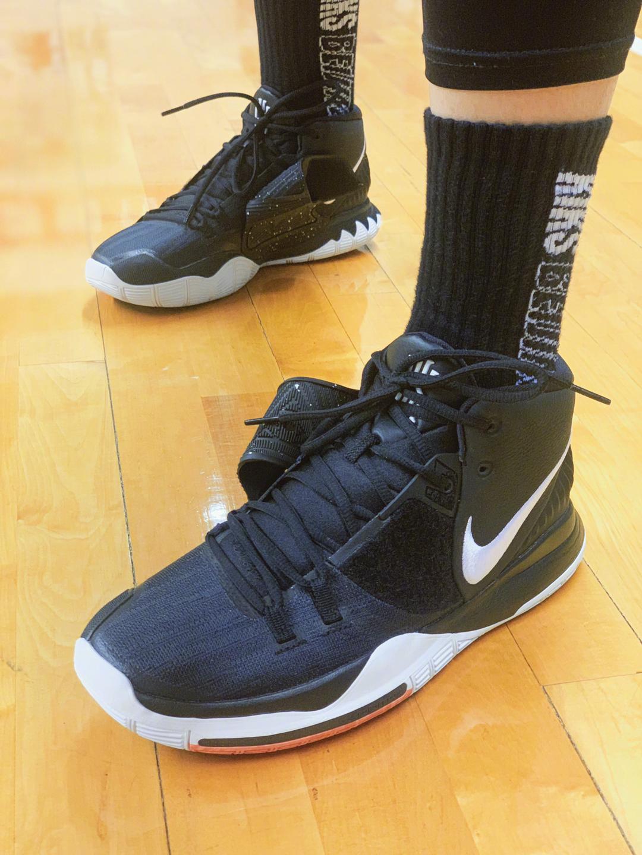 今日@北京传媒之星篮球队 训练部分上脚
