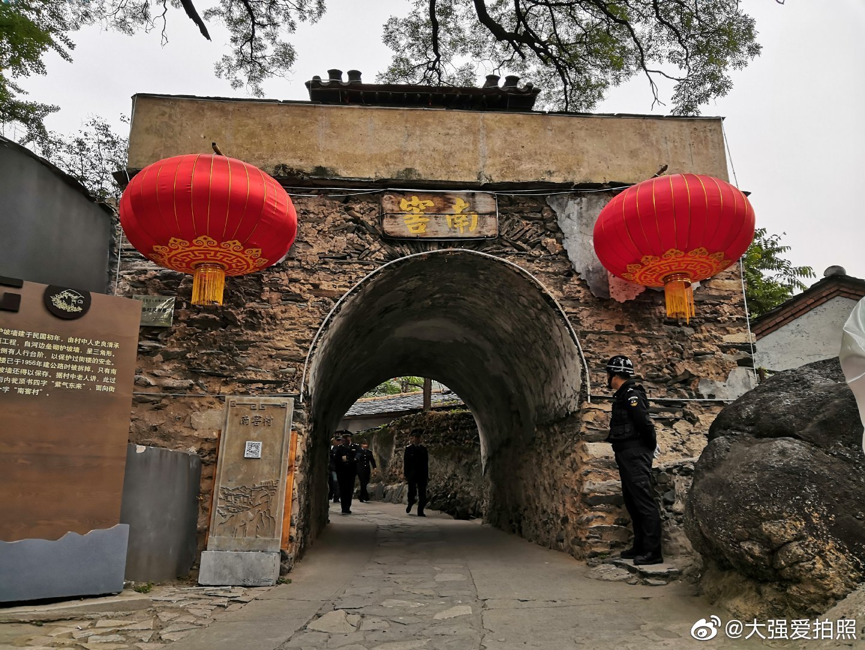 北京房山南窖村保存了大量明清古迹与民俗传统