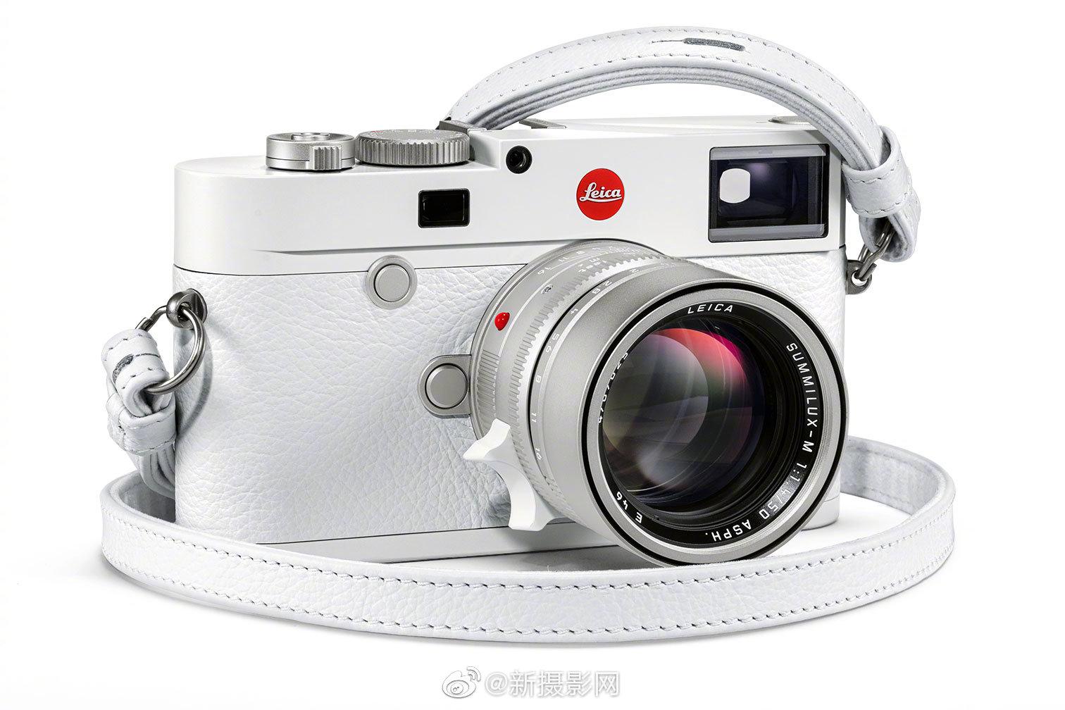 徕卡M10白色限量版相机外观曝光