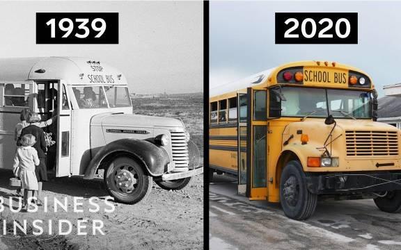 看看美国校车的历史,为什么它看来仍然长这样?