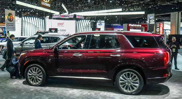 现代进军大型SUV领域,空间比汉兰达还要大,还是V6动力!