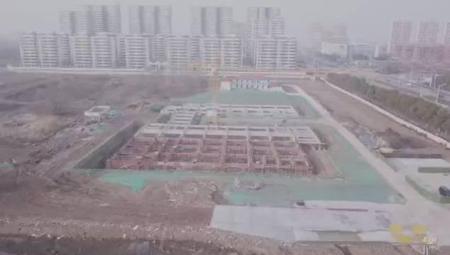 国家级重点技工院校~安徽建工技师学院新校区正在长丰县城南二环边上