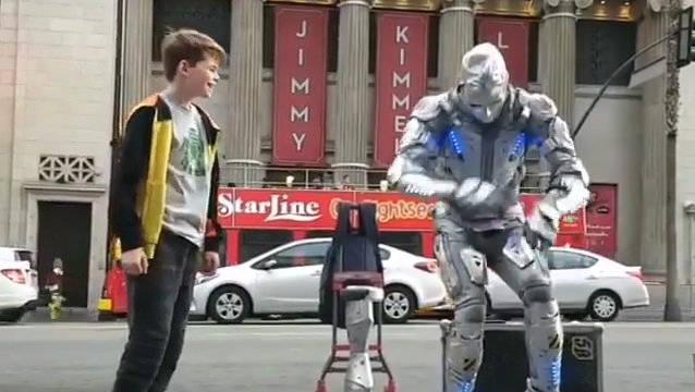 机器人舞蹈,酷!