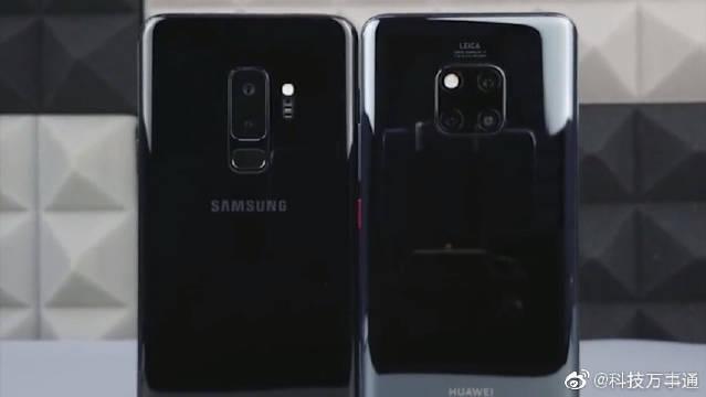 华为Mate20Pro对比三星S9+,同是双曲面屏差距太大啦!