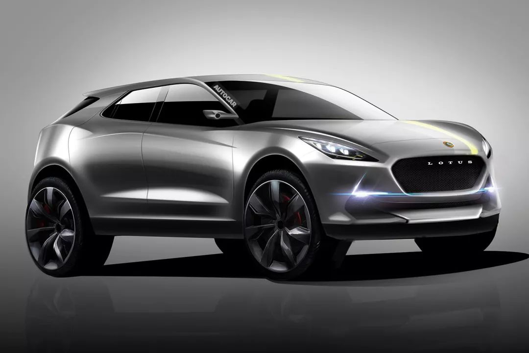 吉利控股英国跑车品牌路特斯,旗下首款运动SUV将上线!