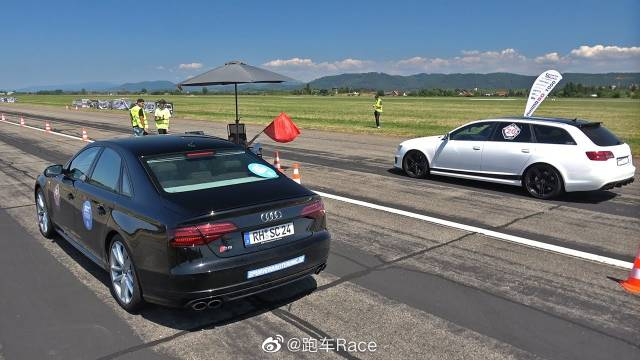视频:725HP奥迪RS6 C6 V10 BiTurbo w/ Akrapovic排气很暴躁!